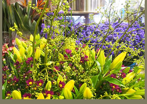 会場の装飾・装花